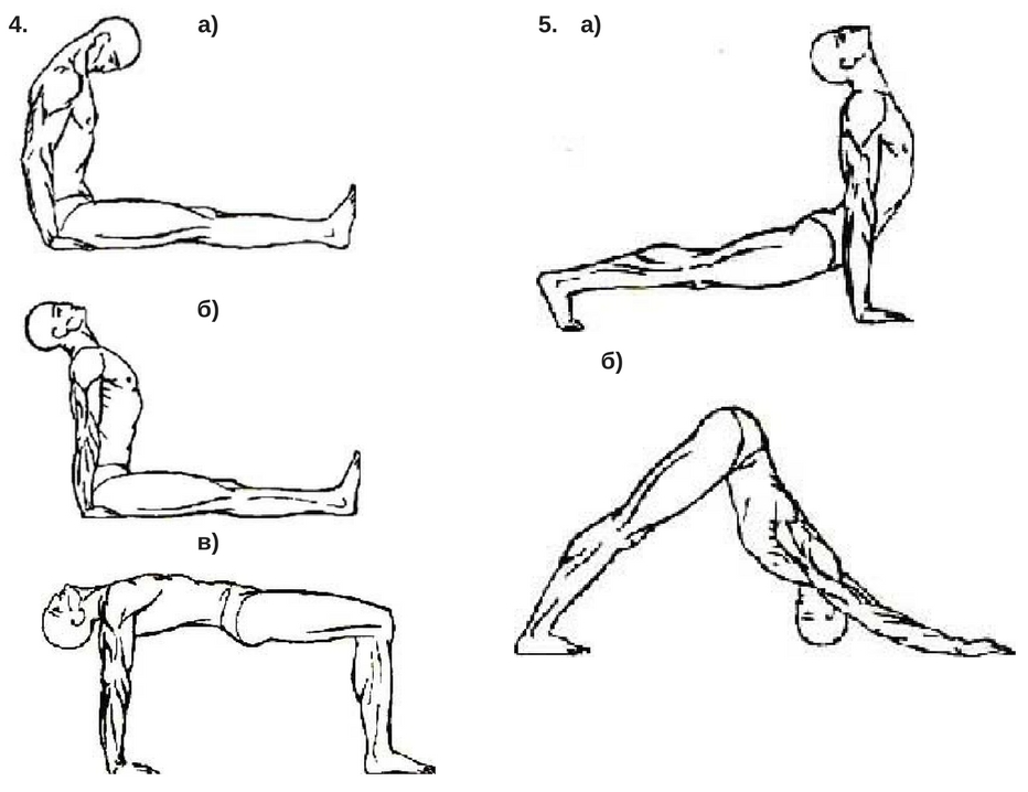 Тибетские упражнения похудения