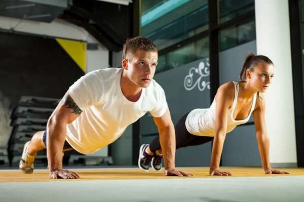 Как похудеть упражнения.