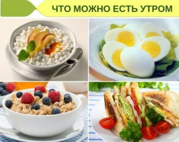 Правильный завтрак для похудения/диетический завтрак.
